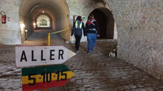 Parcours intérieur du fort de Reichstett