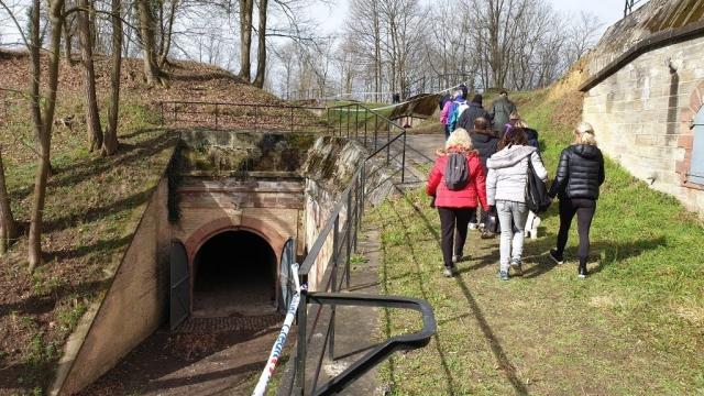 Intérieur du fort de Reichstett