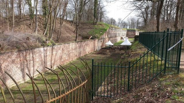 Fossée du fort de Reichstett