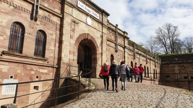 Entrée principale du fort de Reichstett